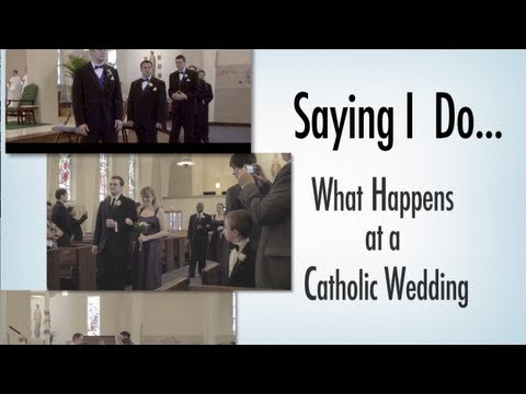 Saying I Do: What Happens at a Catholic Wedding
