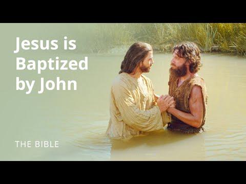 Jesus is Baptized by John