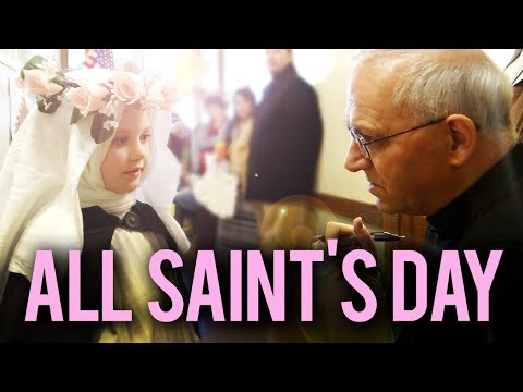 Kids have a blast during All Saint's Day Party!
