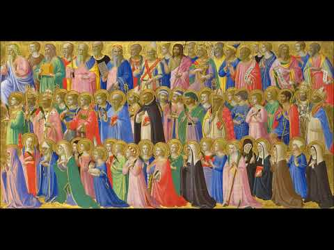 Eight gregorian chants for All Saints' Day