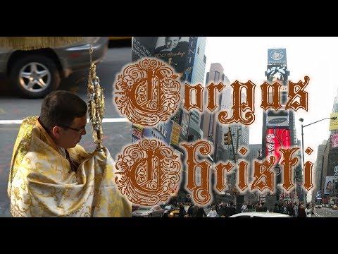 Corpus Christi Procession in Manhattan, New York City