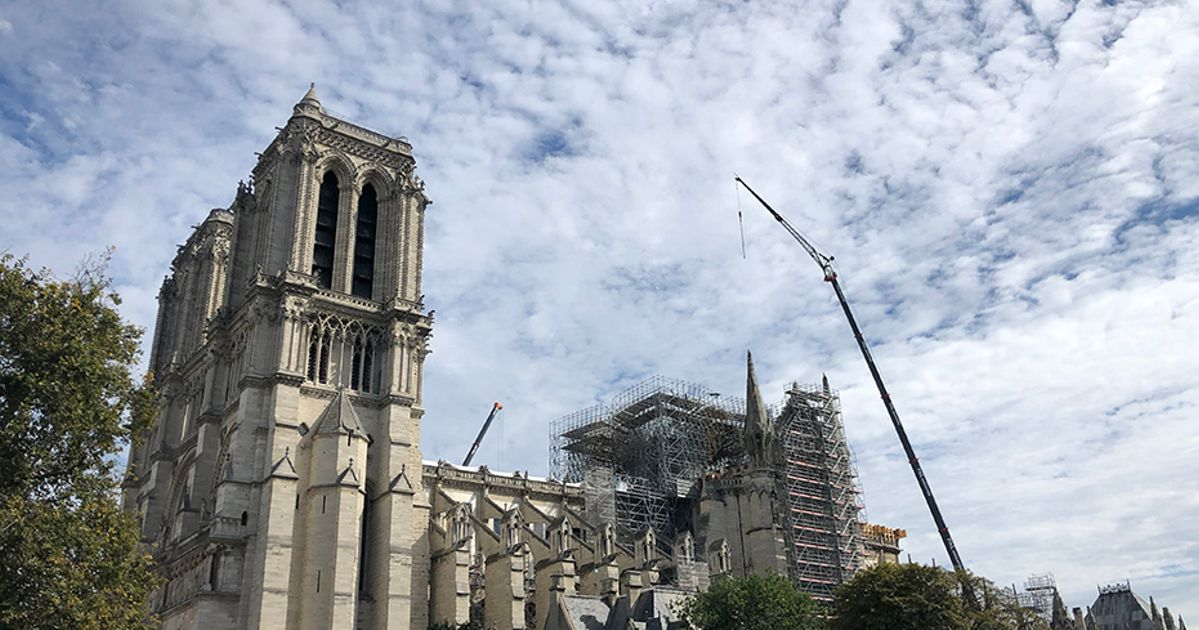 Inside Notre Dame: a blow-by-blow account of the restoration process